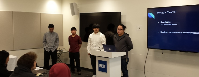 BCIT Industry Sponsored Student Projects Selected by ISSP Students 2017