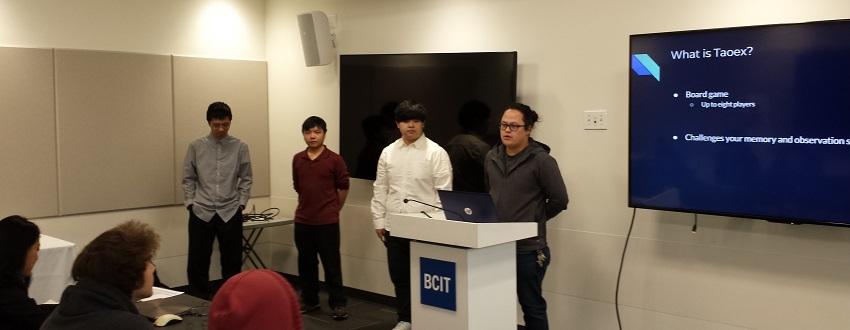 Taoex ISSP Presentation @ BCIT